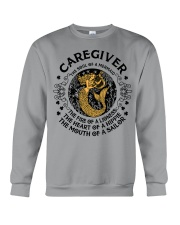 CAREGIVER MERMAID Crewneck Sweatshirt front