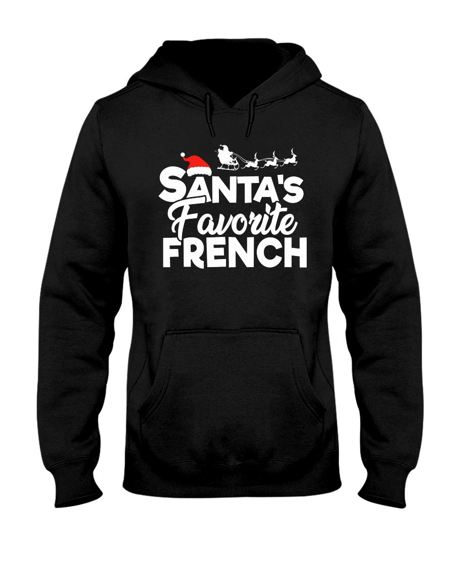 Santa's favorite French Hooded Sweatshirt