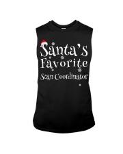Santa's favorite Scan Coordinator Sleeveless Tee thumbnail