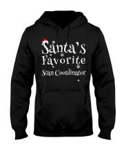 Santa's favorite Scan Coordinator Hooded Sweatshirt front