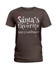 Santa's favorite Scan Coordinator Ladies T-Shirt thumbnail