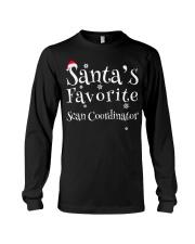 Santa's favorite Scan Coordinator Long Sleeve Tee thumbnail