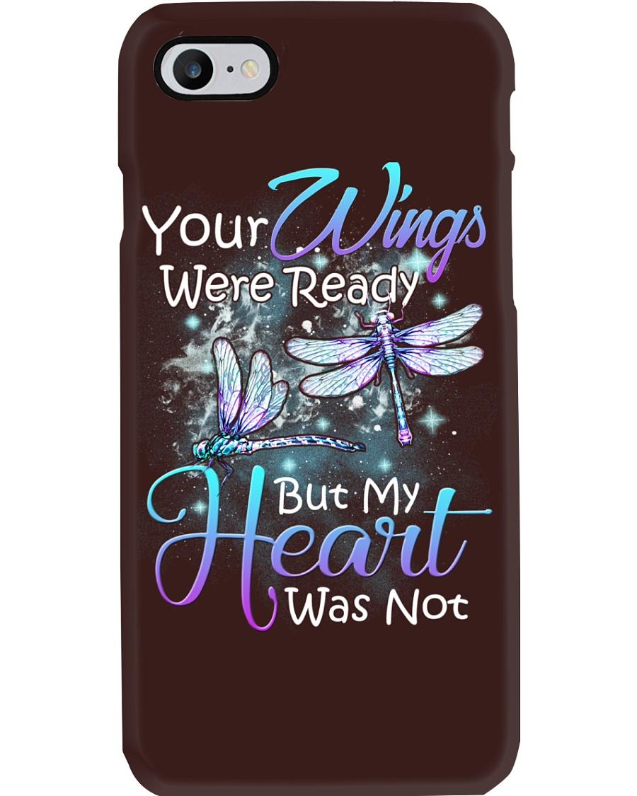 Memorial loving angel butterfly Phone Case