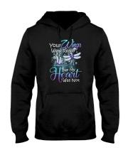 Memorial loving angel butterfly Hooded Sweatshirt front