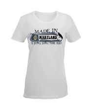 Maryland Ladies T-Shirt women-premium-crewneck-shirt-front