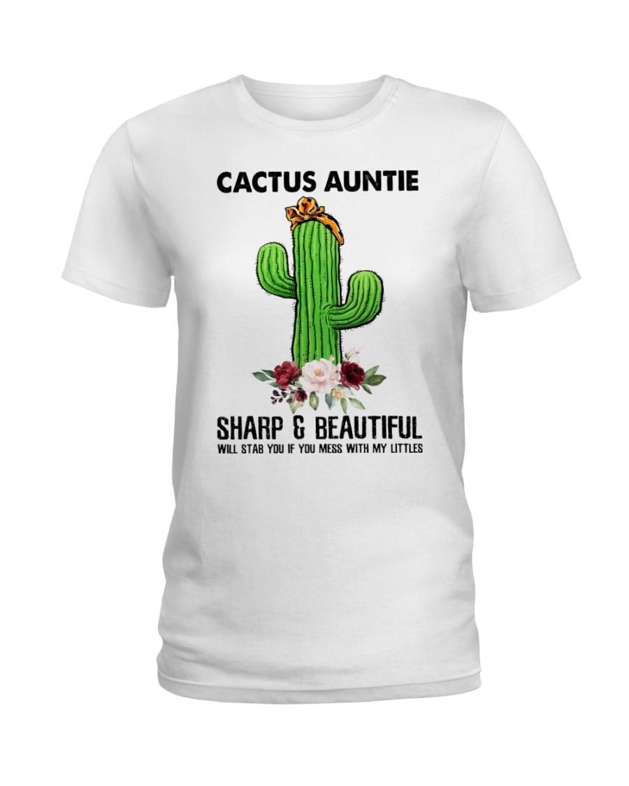 Cactus Auntie Ladies T-Shirt