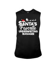 Santa's favorite Underwriting Manager Sleeveless Tee thumbnail