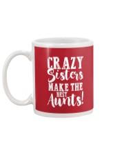 Crazy sisters best aunts ever Mug back