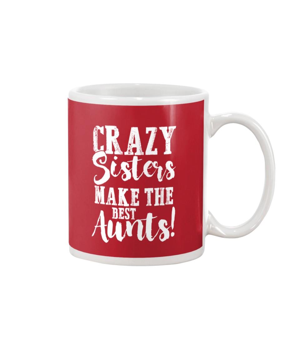 Crazy sisters best aunts ever Mug