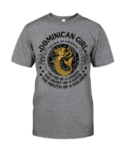 Dominican mermaid girl Classic T-Shirt thumbnail