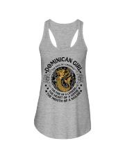 Dominican mermaid girl Ladies Flowy Tank thumbnail