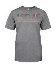 Vintage Receptionist Classic T-Shirt thumbnail
