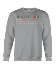 Vintage Receptionist Crewneck Sweatshirt thumbnail