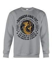 BUSINESS ANALYST MERMAID Crewneck Sweatshirt front