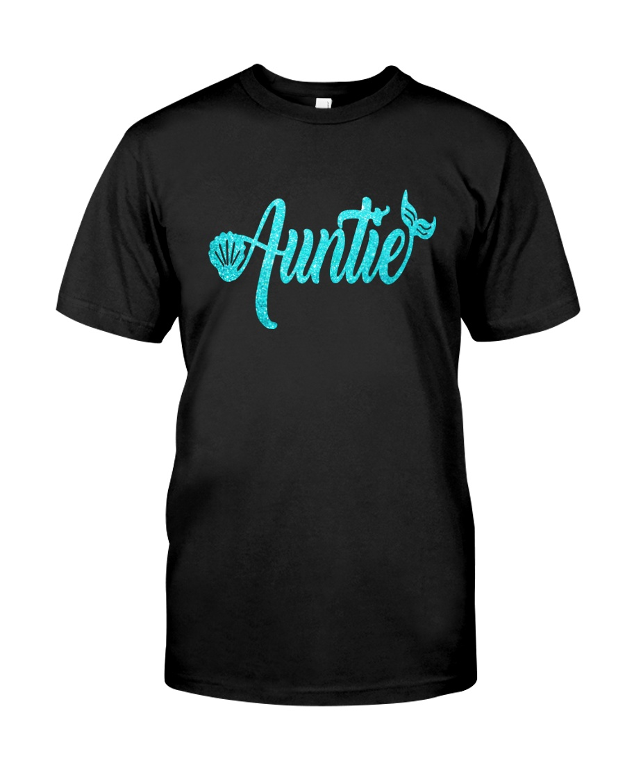 Mermaid Auntie Classic T-Shirt