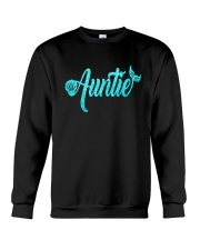 Mermaid Auntie Crewneck Sweatshirt thumbnail
