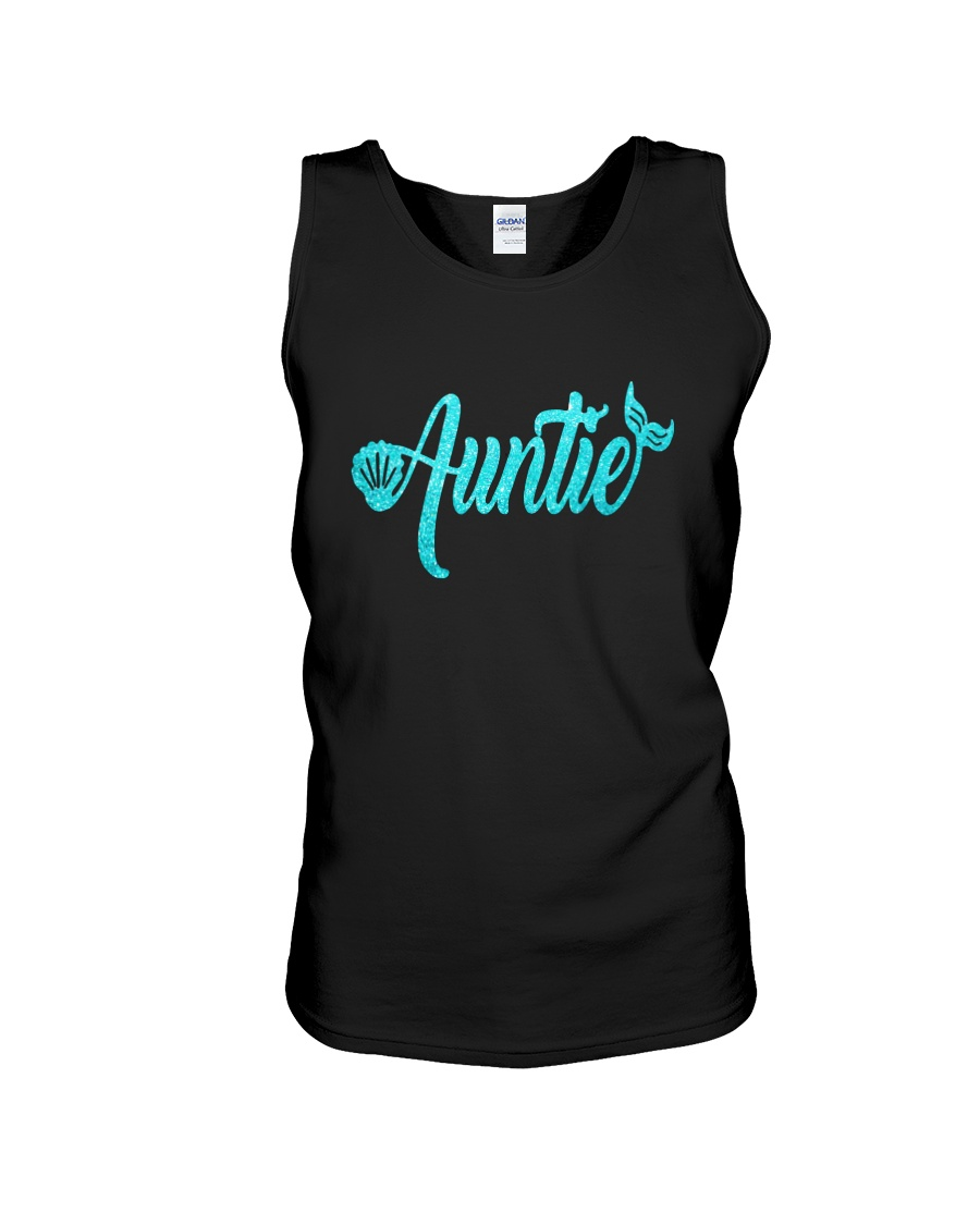 Mermaid Auntie Unisex Tank