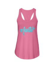 Mermaid Auntie Ladies Flowy Tank thumbnail