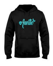 Mermaid Auntie Hooded Sweatshirt thumbnail