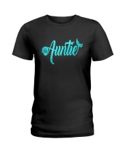 Mermaid Auntie Ladies T-Shirt thumbnail