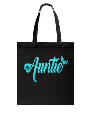 Mermaid Auntie Tote Bag front
