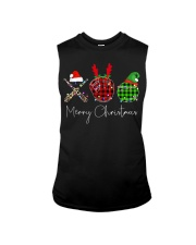 Merry Christmas Baseball Sleeveless Tee thumbnail