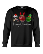 Merry Christmas Baseball Crewneck Sweatshirt tile