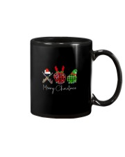 Merry Christmas Baseball Mug tile