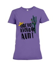 Nacho Average Aunt Premium Fit Ladies Tee thumbnail