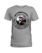 SEPTEMBER WOMAN Ladies T-Shirt thumbnail