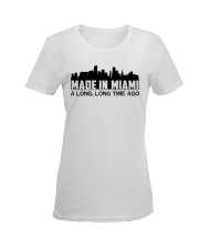 Miami Ladies T-Shirt women-premium-crewneck-shirt-front