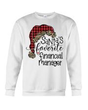 Santa's favorite Financial Manager Crewneck Sweatshirt tile