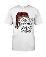 Santa's favorite Budget Analyst Classic T-Shirt tile