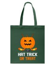 Hockey Hat Trick or Treat Tote Bag thumbnail