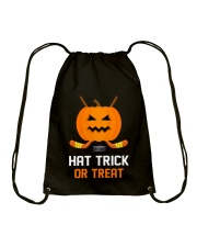 Hockey Hat Trick or Treat Drawstring Bag thumbnail