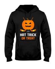 Hockey Hat Trick or Treat Hooded Sweatshirt thumbnail