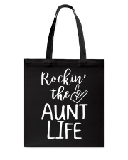 Rockin' the aunt life Tote Bag thumbnail