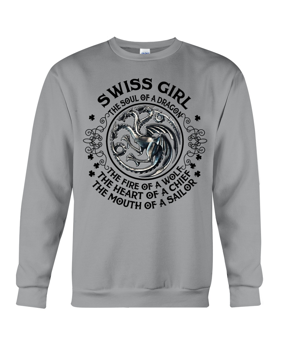 Swiss Dragon Crewneck Sweatshirt