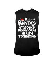 Santa's favorite Behavioral Health Technician Sleeveless Tee thumbnail