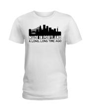 Portland Ladies T-Shirt front