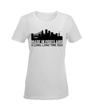 Portland Ladies T-Shirt women-premium-crewneck-shirt-front