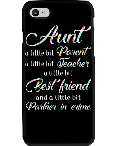 Aunt partner in crime