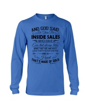 And God said let there be Inside Sales Long Sleeve Tee thumbnail