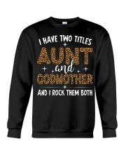 Auntie and Godmother Crewneck Sweatshirt thumbnail