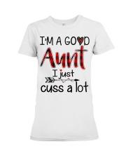Aunt Premium Fit Ladies Tee thumbnail