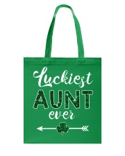Luckiest Aunt Ever Tote Bag thumbnail
