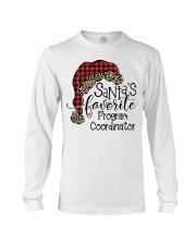 Santa's favorite Program Coordinator Long Sleeve Tee tile