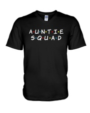 Auntie Squad V-Neck T-Shirt thumbnail