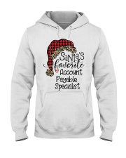 Accounts Payable Specialist Hooded Sweatshirt front