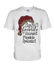Accounts Payable Specialist V-Neck T-Shirt tile